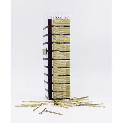 Τσιμπιδάκια 100 τεμ gold K6-10-3G